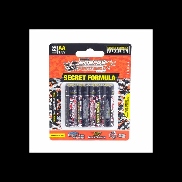 Bilde av Energy Paintball - AA Batteri - 4pk