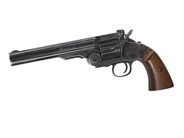 Bilde av Schofield No.3 Revolver - 4.5mm Pellets - Aging