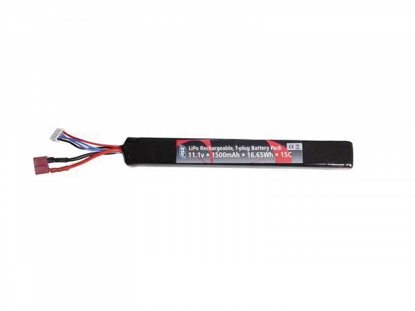 Bilde av Batteri - Li-Po 11.1V 1500mah - Stick med T-Plugg