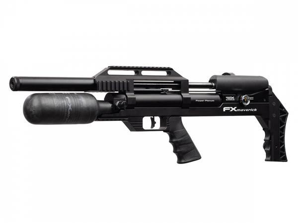 Bilde av FX Maverick Compact PCP Luftgevær Svart - 6.35mm