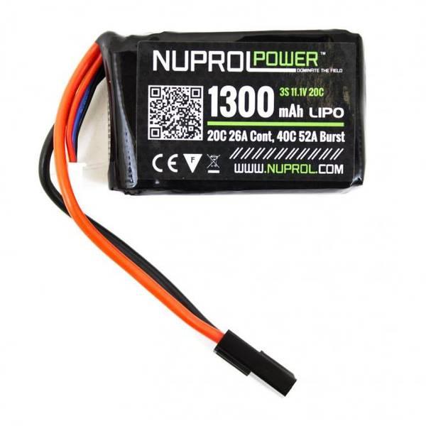 Bilde av NP Batteri Li-Po 11.1V 20C - 1300mAh - PEQ Micro