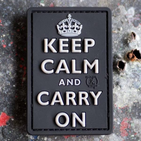 Bilde av Patch - Keep Calm - SWAT